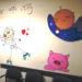 Profesionales de Urgencias del Hospital de Estella-Lizarra decoran la sala de espera infantil
