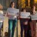 Entregan los vales a las ganadoras en el concurso de la Asociación de Comerciantes de Estella-Lizarra